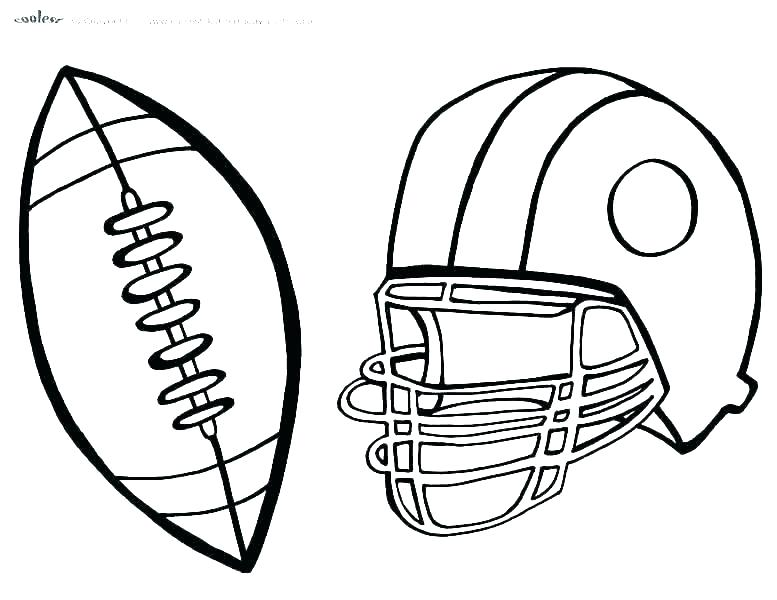 777x600 Football Coloring Pages To Print Template Ncaa Free