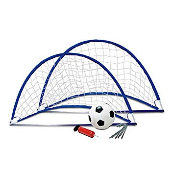 355x355 Flexi Soccer Goal Set Toys Games