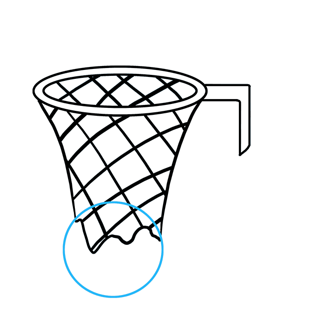 680x678 How To Draw A Basketball Hoop