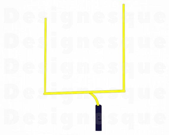 570x456 football goal post football goal post football etsy