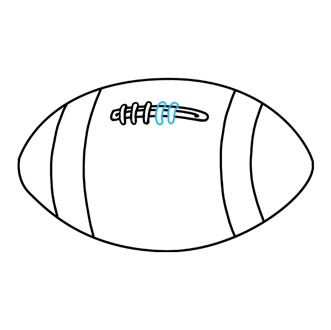 680x678 How To Draw A Football
