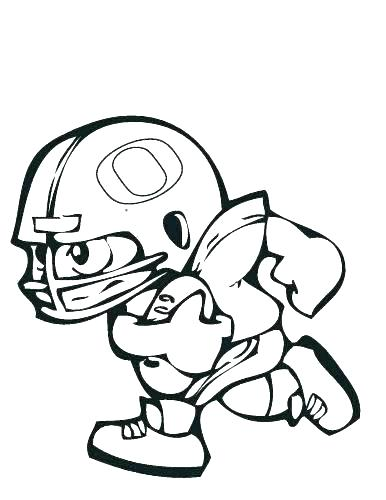 386x500 Outline Of A Football Eagle Football Coloring Pages Football