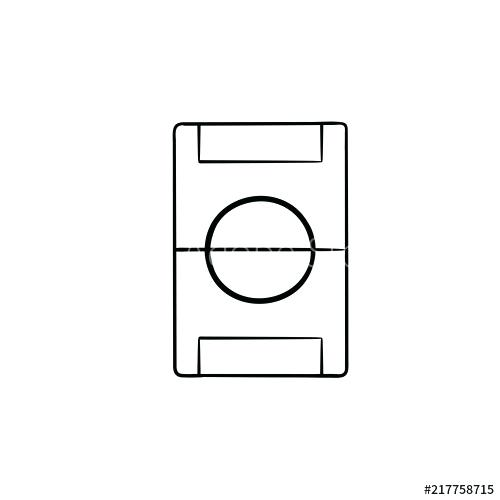 500x500 Outline Of A Football Outline Drawing Of Football Shirt