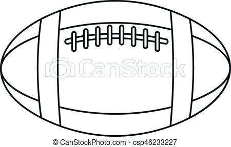 450x287 Outline Of Football Football Shirt Outline Clipart Campoamorgolf