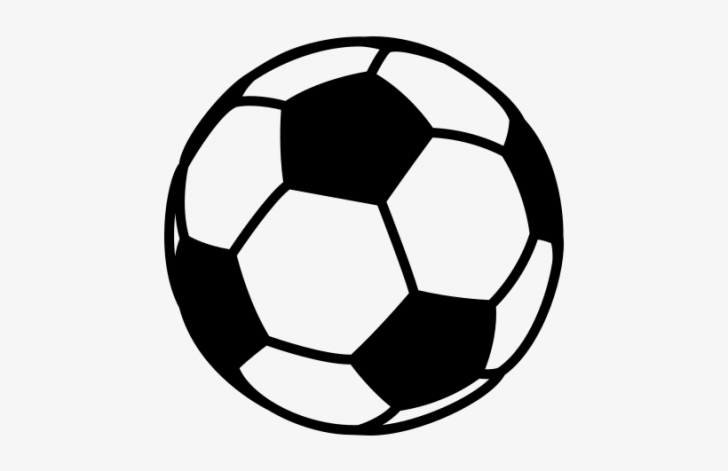 728x471 Soccer Ball Outline Drawing