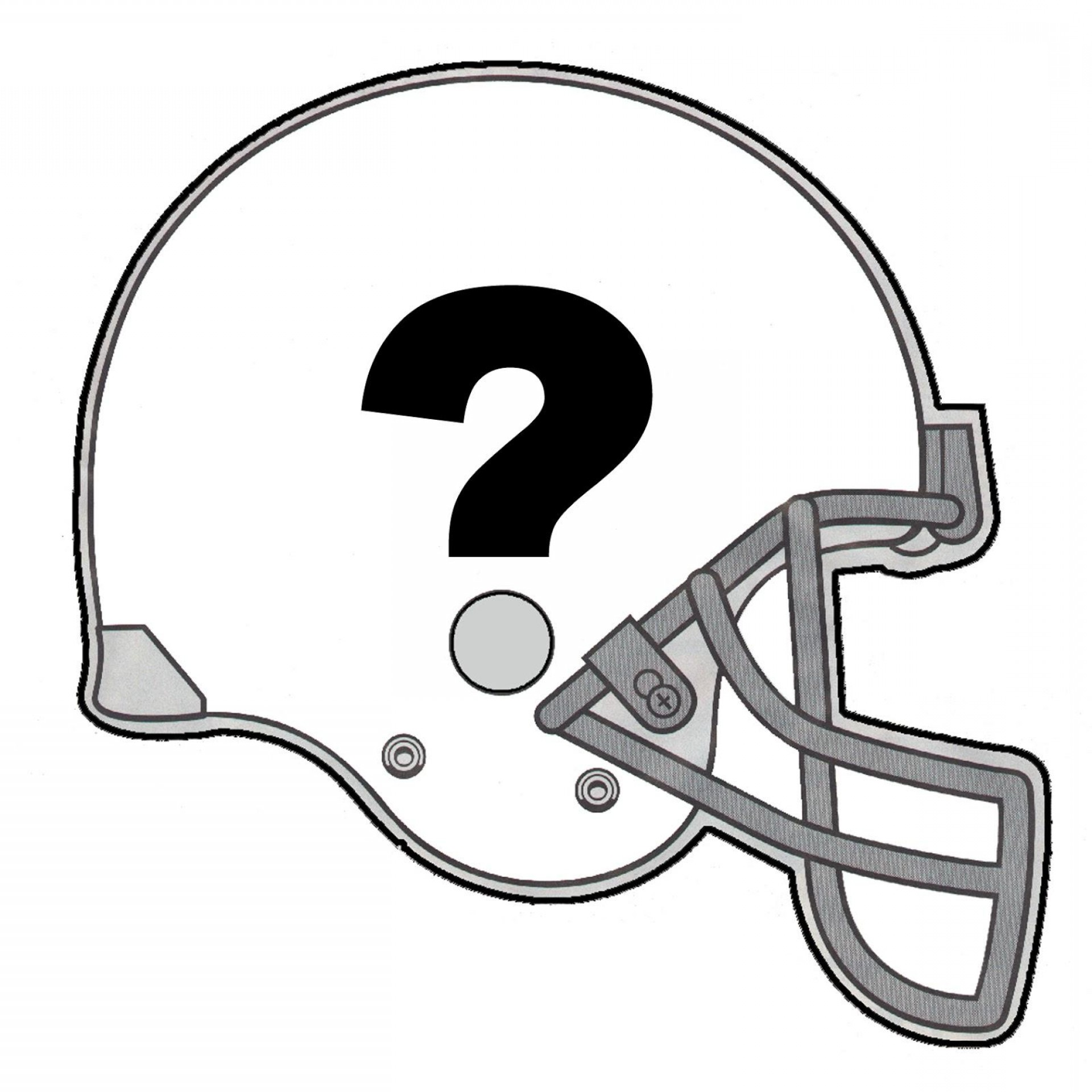 1920x1920 American Football Helmet Line Drawing Vector To Outline Createmepink