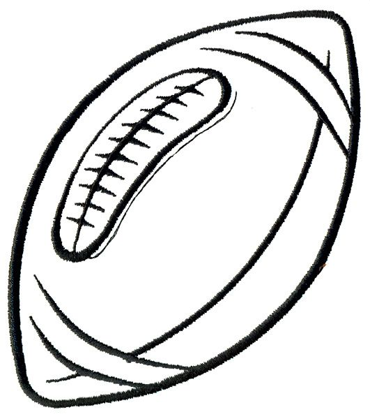 531x600 Best Football Laces Clipart Football Outline, Football