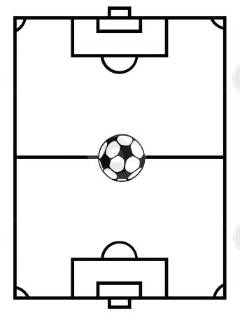 343x450 Football Field Coloring Pages Football Field Coloring Sheets Use