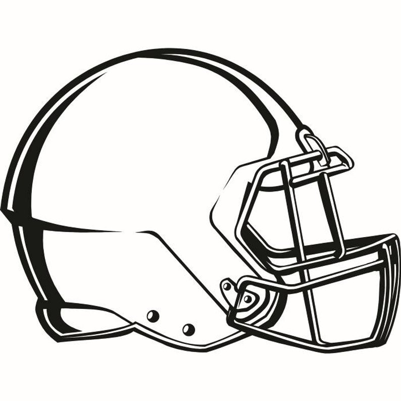 794x793 Football Helmet Equipment Sports Stadium Field School Team Etsy