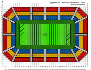 350x272 Football Stadium, Bowl Title Playoff Games, Coordinate