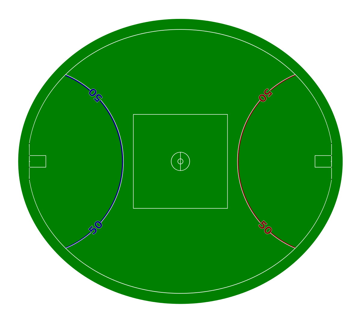 1200x1076 Australian Rules Football Playing Field