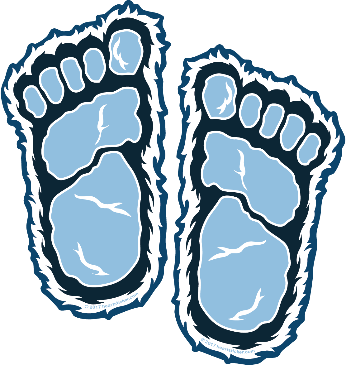 1111x1171 collection of free footprint drawing yeti download on ui ex