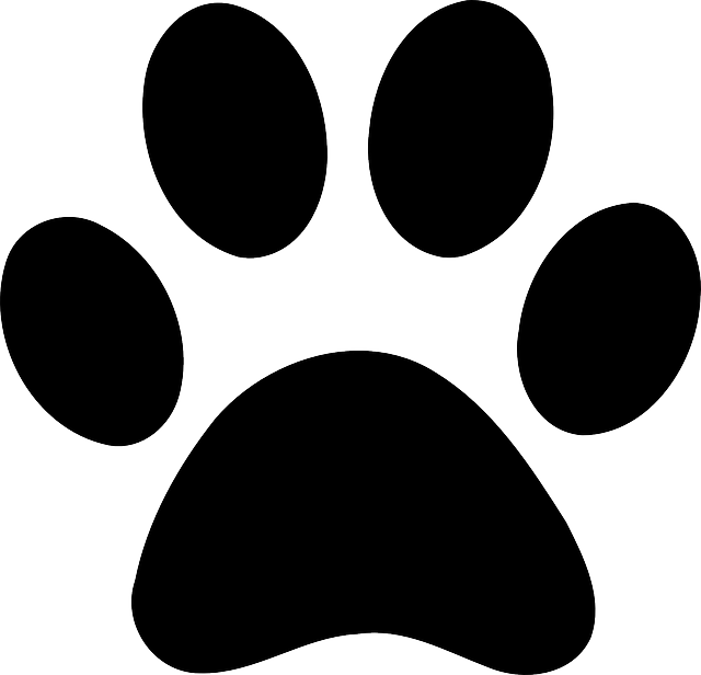 640x616 Drawing Paws Footprint Huge Freebie! Download For Powerpoint
