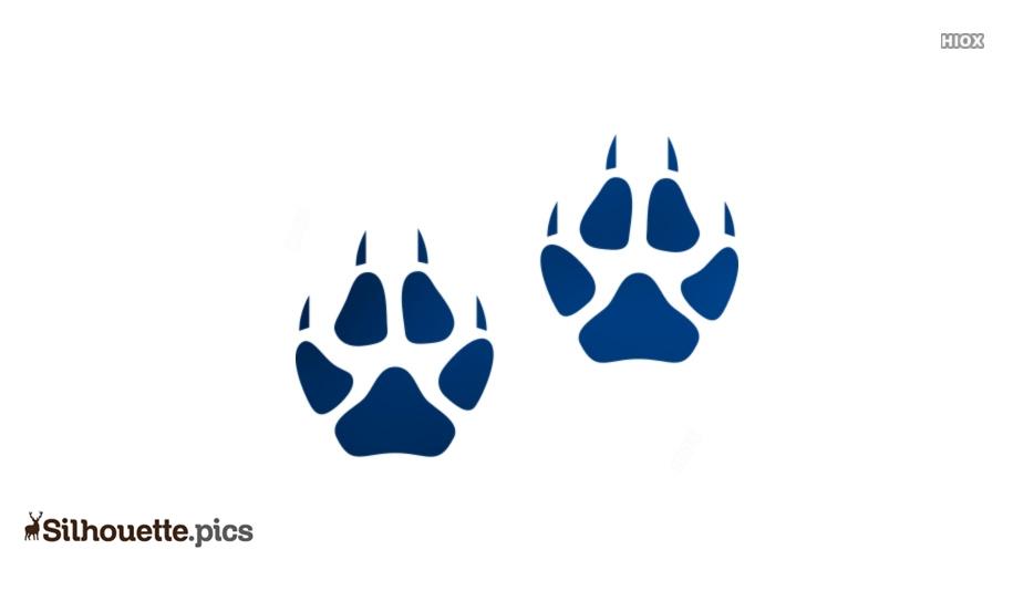 934x534 Fox Footprint Silhouette Drawing Silhouette Pics