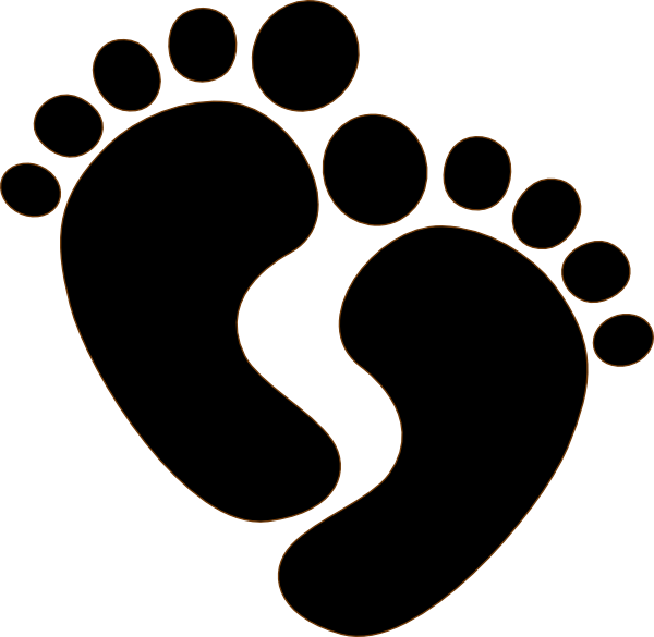 600x585 Collection Of Free Footprint Drawing Pair Foot Download On Ui Ex