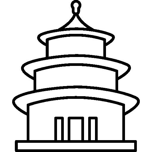 512x512 beijing, forbidden city, peking, china, monuments, landmark icon
