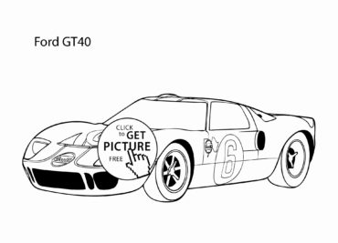 370x267 ford gt coloring pages ford gt vs