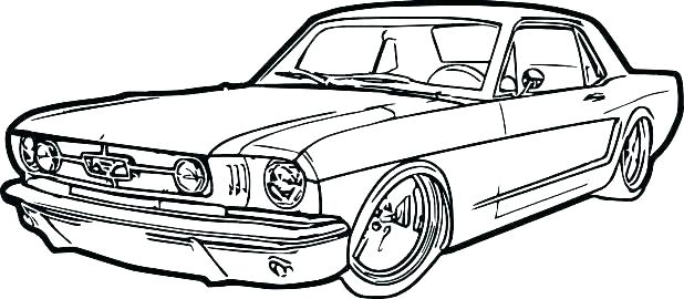 618x270 ford mustang coloring pages mustang coloring pages for kids ford