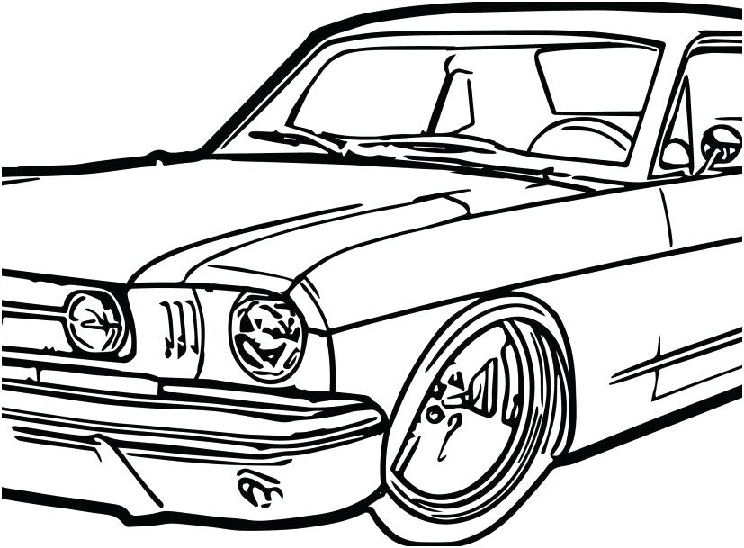 827x609 mustang car coloring pages ford mustang gt car coloring pages