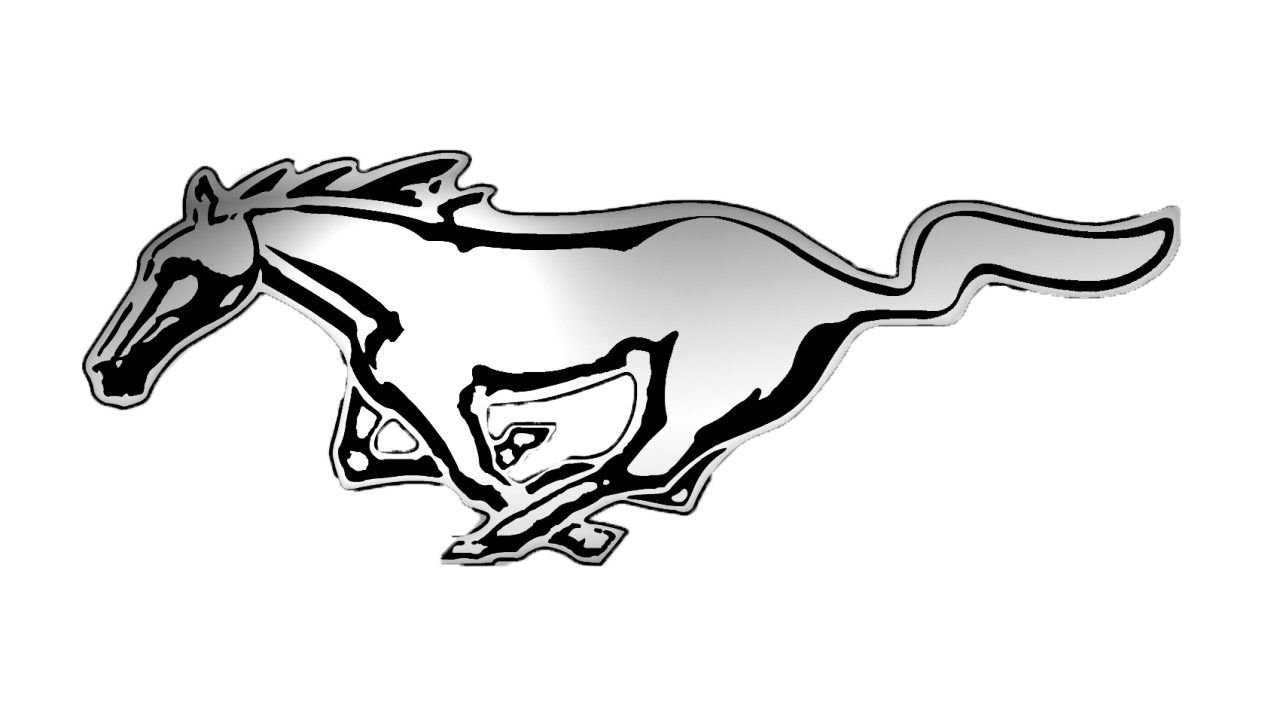 1280x720 logo mustang ford mustang logo desktop background
