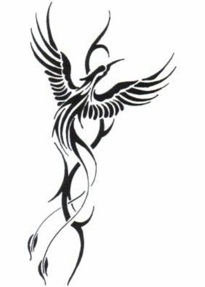 400x560 tattoo tattoo tattoos, tribal phoenix tattoo, tattoo designs