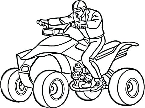 Four Wheeler Drawing | Free download on ClipArtMag