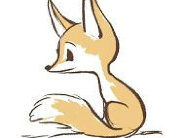 640x480 Cute Drawing Of A Fox Best Fox Sketch Images Sketches Paintings