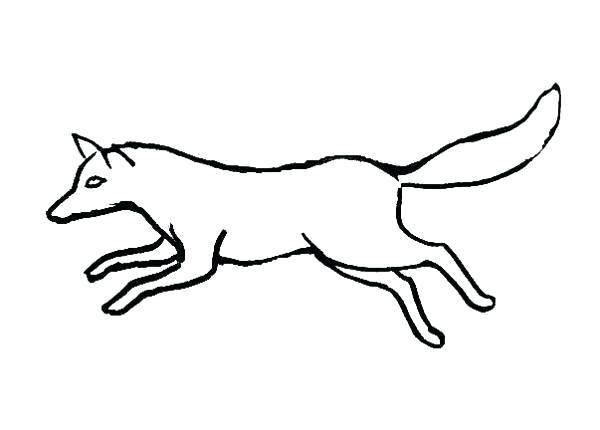 600x430 Cute Drawings Of Foxes Fox Coloring Pictures Arctic
