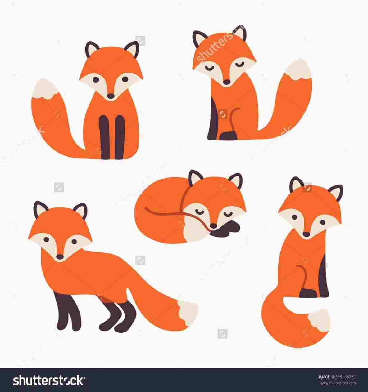 1185x1264 Draw Easy Cute Fox Drawing A How To S And Rhcom