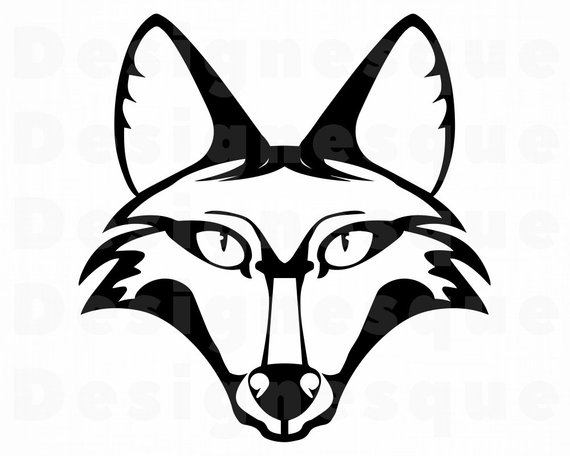 570x456 fox mascot fox red fox fox clipart fox etsy