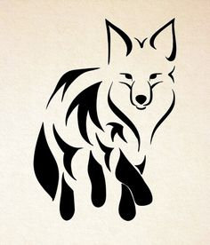 236x276 Best Fox Silhouette Images Fox, Fox Silhouette, Stencils