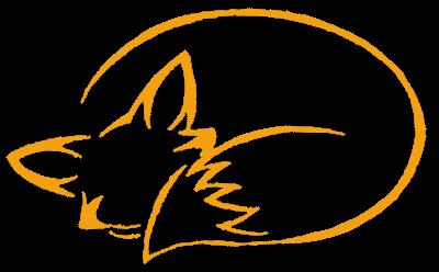 400x248 Minimalist Fox Outline Foxes Fox Tattoo, Fox Drawing, Art