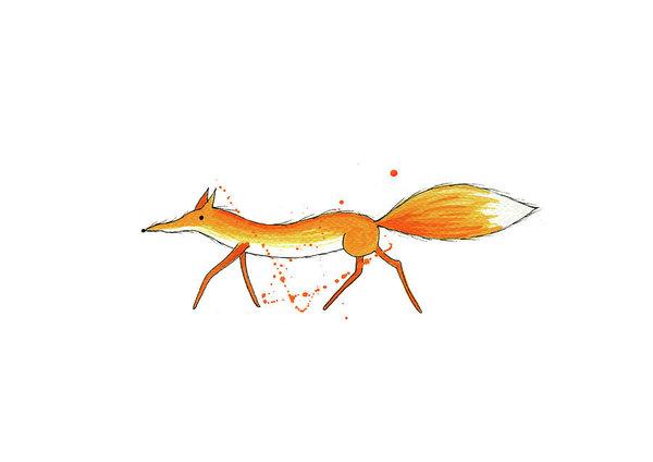 600x424 Fox Tail Paintings Fine Art America