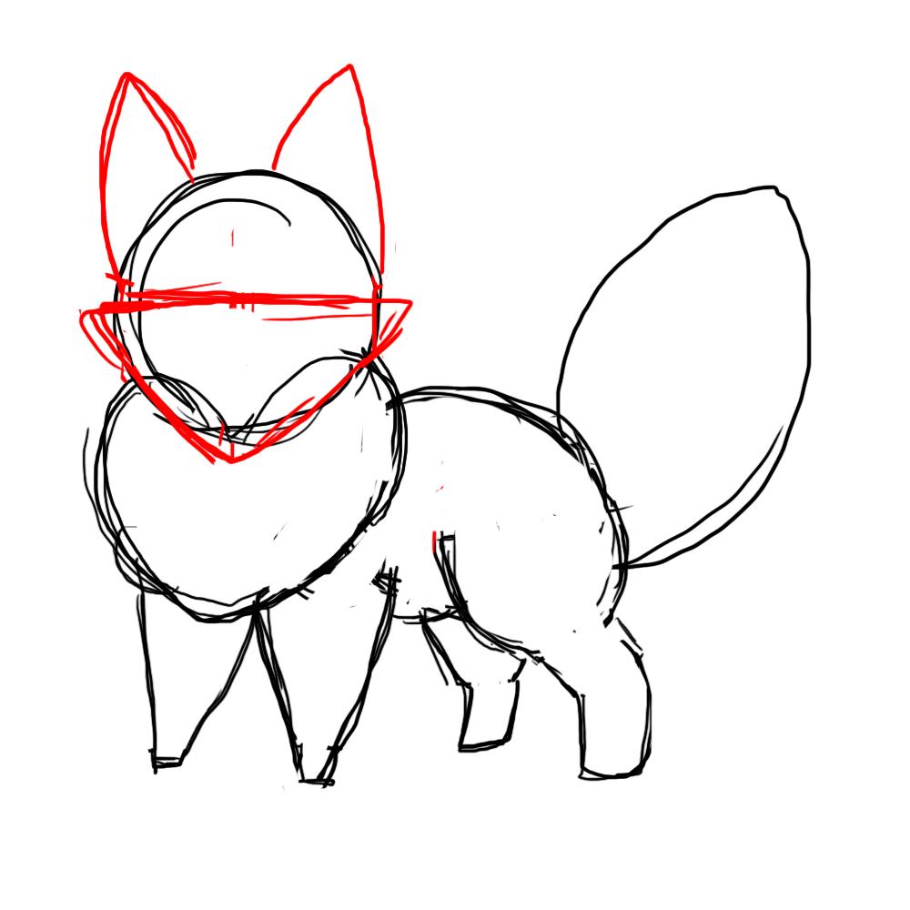 1000x1000 How To Draw A Chibi Fox