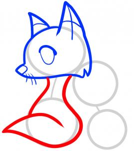 269x302 How To Draw How To Draw Foxes For Kids