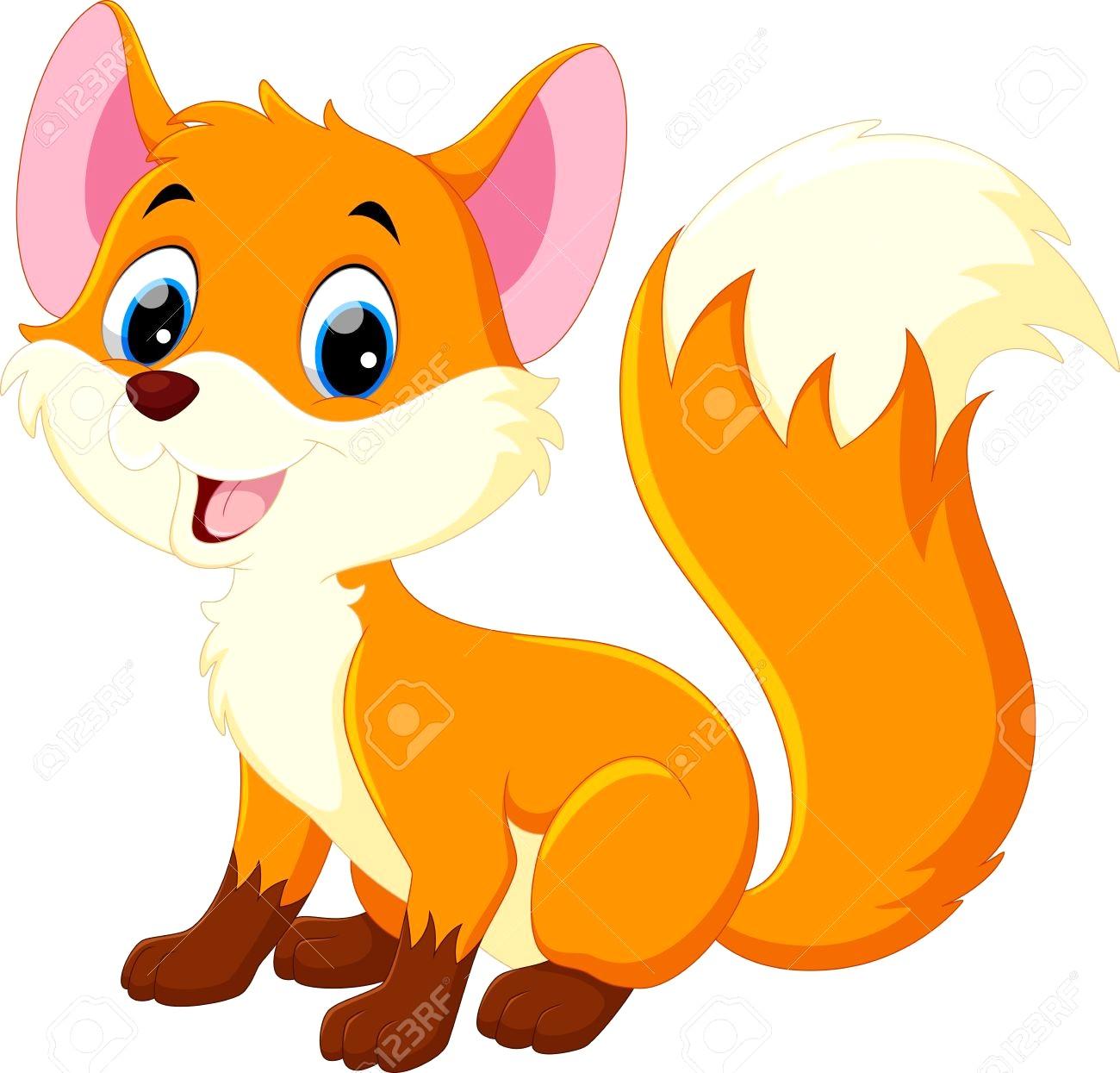 1300x1245 Cute Baby Fox Drawing Anime