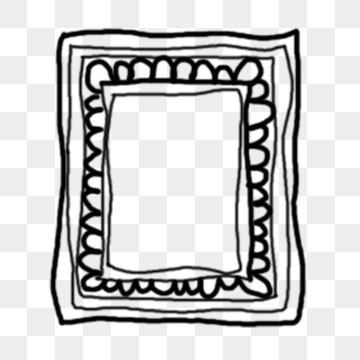 360x360 Line Drawing Photo Frame Png Images Vectors And Free