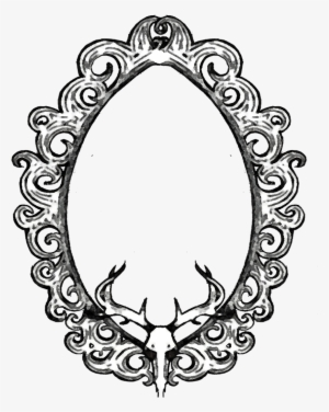 300x376 Collection Of Frame Drawing Tumblr