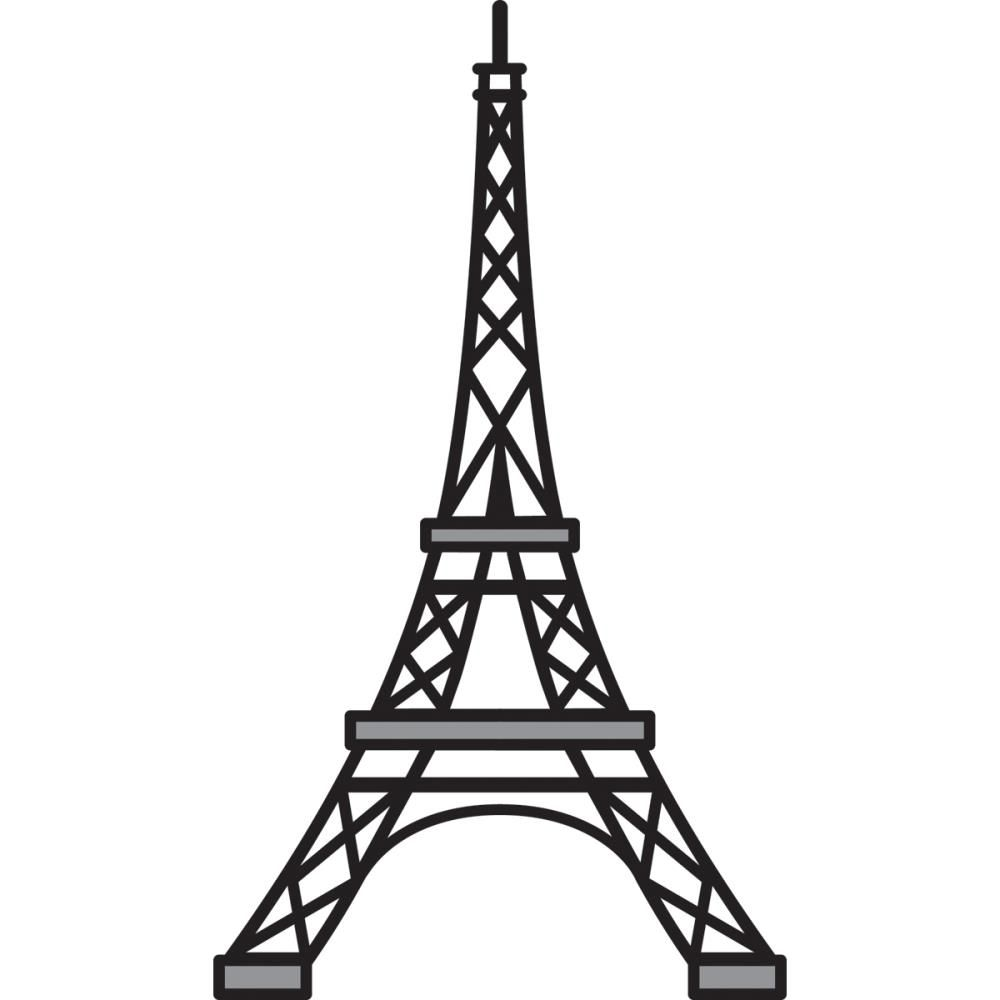1000x1000 france drawing fell tower for free download