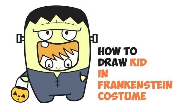 600x369 drawings of frankenstein cartoon frankenstein drawings