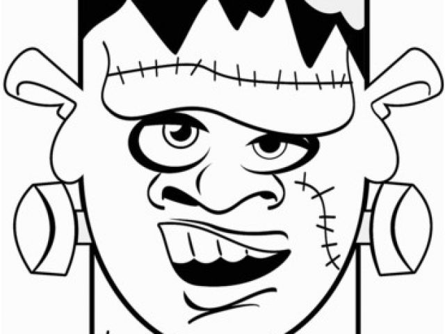640x480 frankenstein head coloring pages frankenstein cartoon drawing