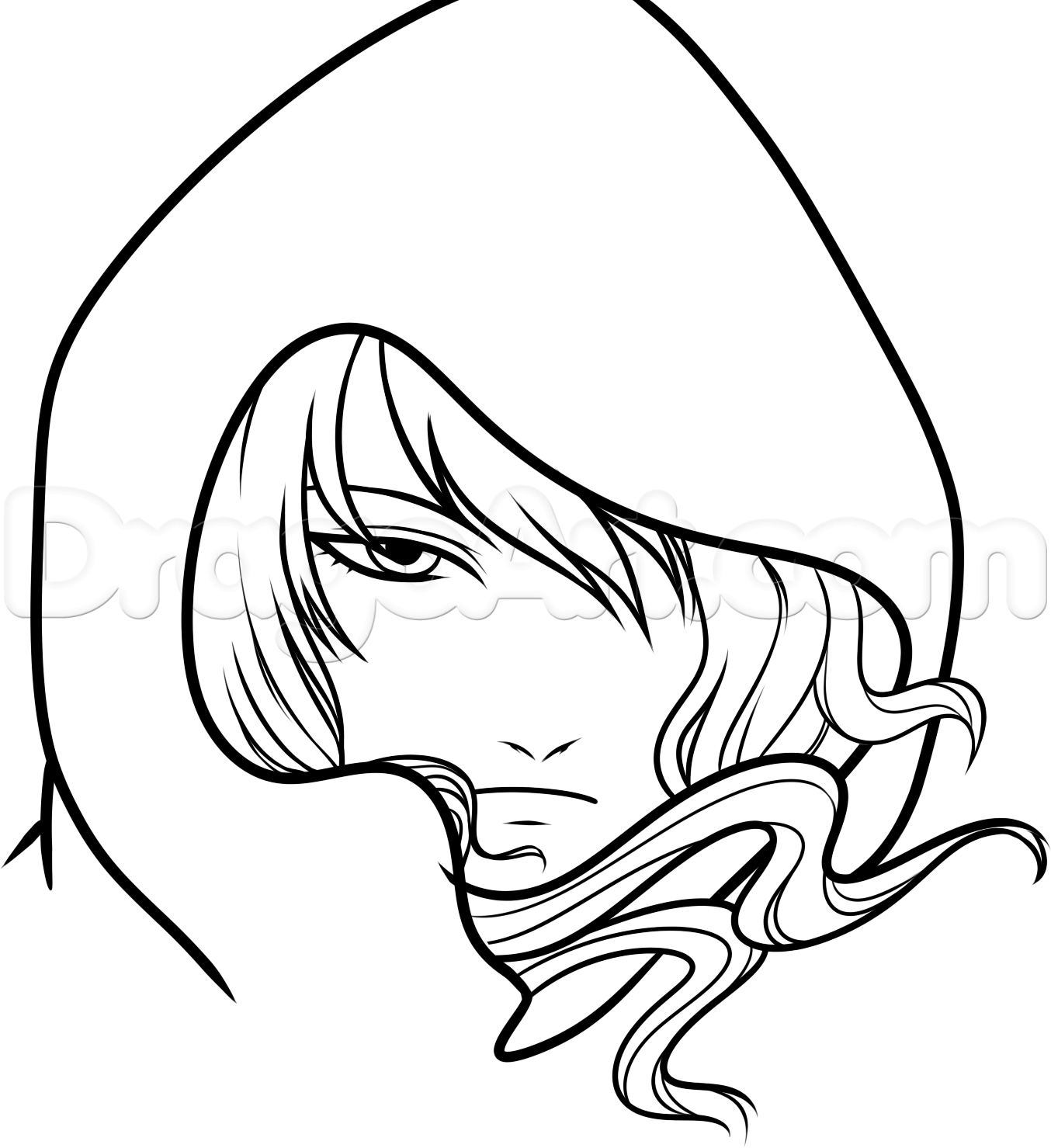 Free Anime Drawing