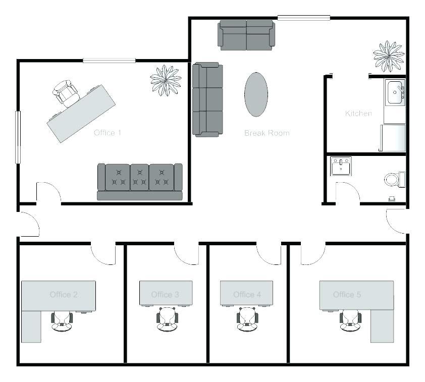 842x757 free office floor plan software business floor plan design floor