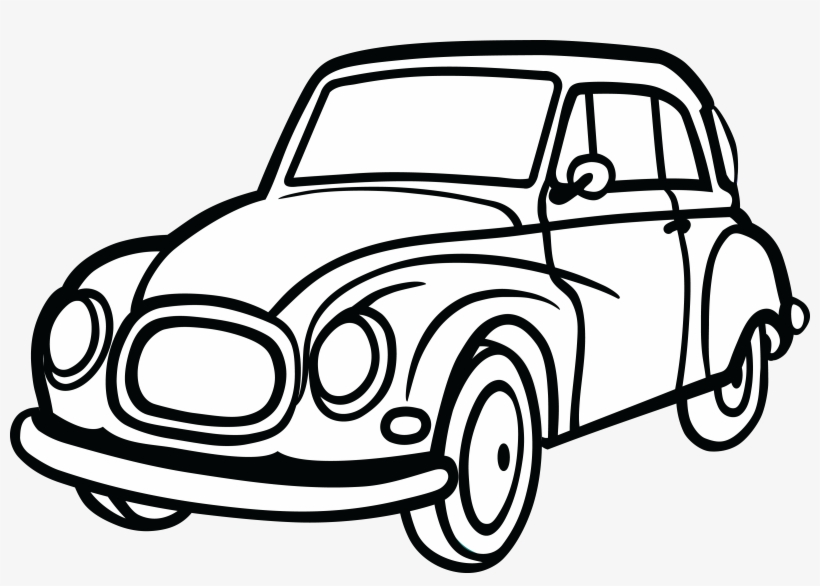820x586 Free Clipart Of A Car
