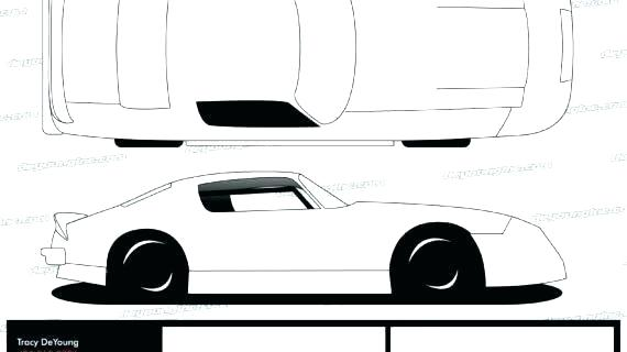 570x320 Sprint Car Design Template Car Drawing Template Car Drawing