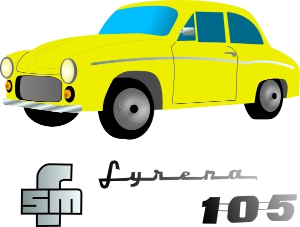 600x455 Yellow Car Vehicle Clip Art Free Vector In Open Office Drawing