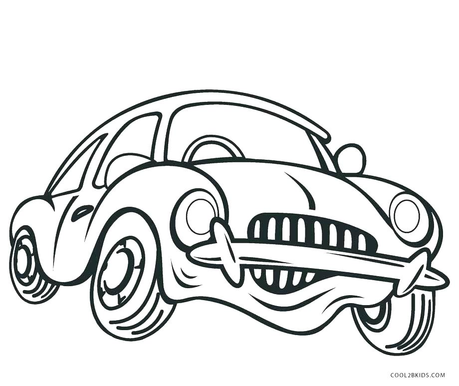 920x773 Cars Colouring