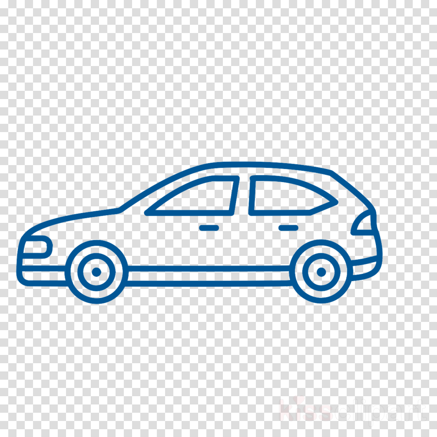 900x900 Car, Drawing, Blue, Transparent Png Image Clipart Free Download