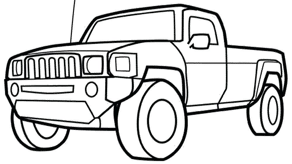 1000x562 Car And Truck Drawings Spectacular Inspiration Coloring Pages