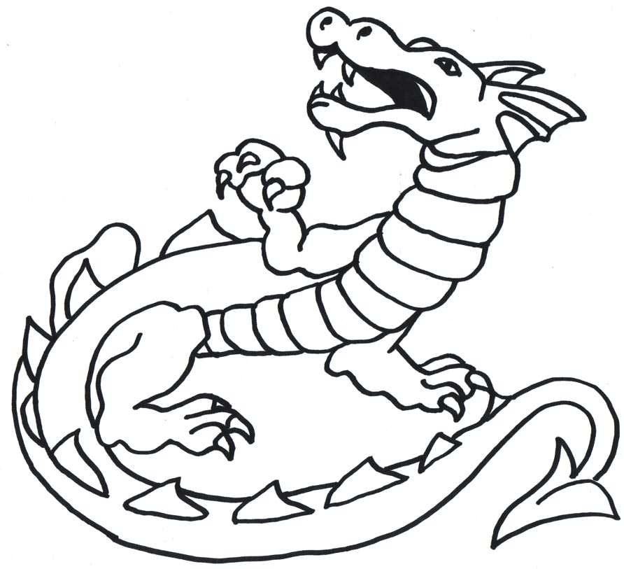 Free Dragon Drawings
